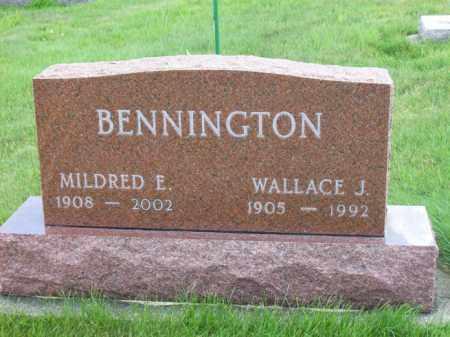 BENNINGTON, MILDRED E. - Marshall County, Illinois | MILDRED E. BENNINGTON - Illinois Gravestone Photos