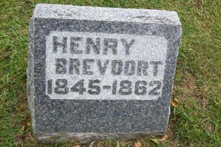 BREVOORT, HENRY - Marshall County, Illinois | HENRY BREVOORT - Illinois Gravestone Photos