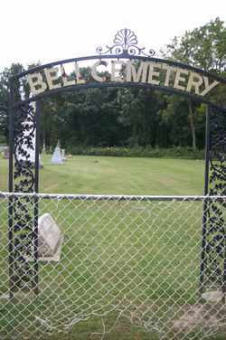 **** BELL CEMETERY SIGN ***,  - Marshall County, Illinois |  **** BELL CEMETERY SIGN *** - Illinois Gravestone Photos