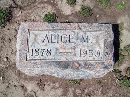 COOK, ALICE M - Marshall County, Illinois   ALICE M COOK - Illinois Gravestone Photos