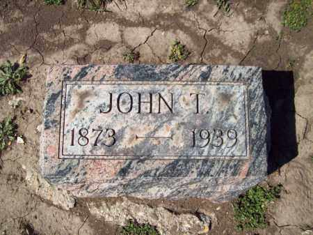COOK, JOHN T - Marshall County, Illinois | JOHN T COOK - Illinois Gravestone Photos