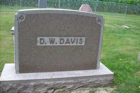 DAVIS, FAMILY MONUMENT - Marshall County, Illinois | FAMILY MONUMENT DAVIS - Illinois Gravestone Photos