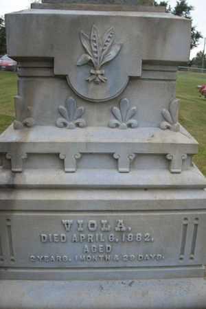 DRAKE, VIOLA - Marshall County, Illinois   VIOLA DRAKE - Illinois Gravestone Photos