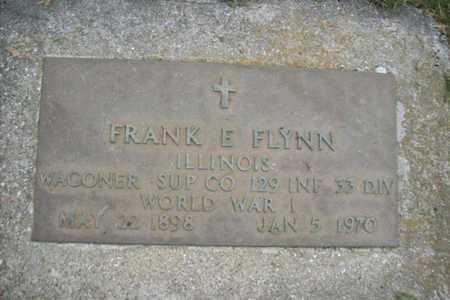FLYNN, FRANK MILITARY STONE - Marshall County, Illinois   FRANK MILITARY STONE FLYNN - Illinois Gravestone Photos