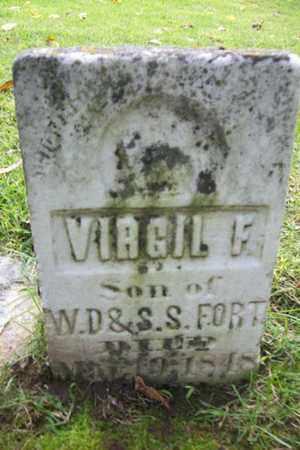 FORT, VIRGIL FRANKLIN - Marshall County, Illinois | VIRGIL FRANKLIN FORT - Illinois Gravestone Photos