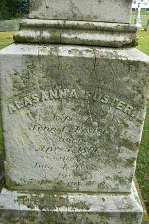 "FOSTER, ALASANNA ""ALICE"" - Marshall County, Illinois 