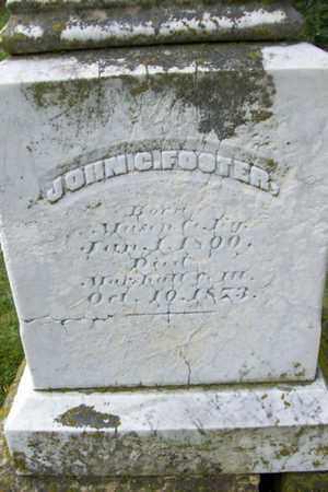 FOSTER, JOHN C. - Marshall County, Illinois | JOHN C. FOSTER - Illinois Gravestone Photos