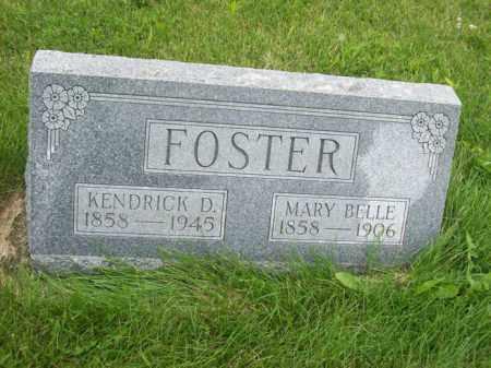 FOSTER, MARY BELLE - Marshall County, Illinois | MARY BELLE FOSTER - Illinois Gravestone Photos