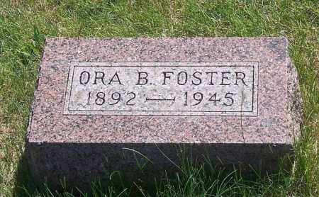 FOSTER, ORA B. - Marshall County, Illinois | ORA B. FOSTER - Illinois Gravestone Photos