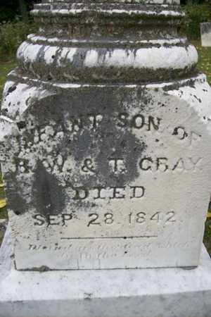 GRAY, INFANT SON - Marshall County, Illinois | INFANT SON GRAY - Illinois Gravestone Photos