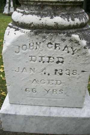 GRAY, JOHN - Marshall County, Illinois | JOHN GRAY - Illinois Gravestone Photos