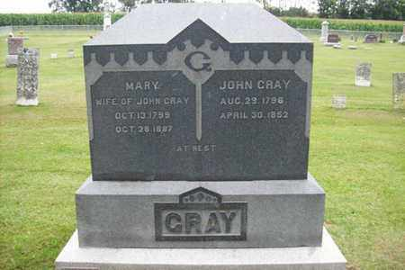 GRAY, MARY - Marshall County, Illinois | MARY GRAY - Illinois Gravestone Photos