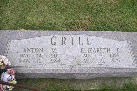 KAMP GRILL, ELIZABETH E. - Marshall County, Illinois | ELIZABETH E. KAMP GRILL - Illinois Gravestone Photos