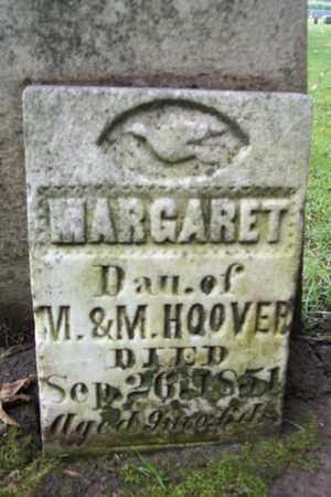 HOOVER, MARGARET - Marshall County, Illinois | MARGARET HOOVER - Illinois Gravestone Photos