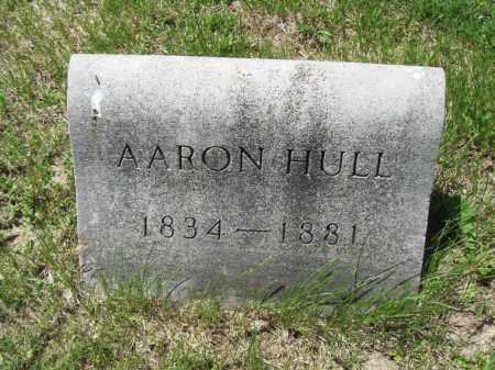 HULL, AARON - Marshall County, Illinois | AARON HULL - Illinois Gravestone Photos