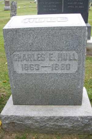 HULL, CHARLES E. - Marshall County, Illinois | CHARLES E. HULL - Illinois Gravestone Photos