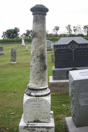 HULL, EPHRAIM LEWIS - Marshall County, Illinois | EPHRAIM LEWIS HULL - Illinois Gravestone Photos