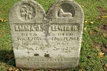 HULL, LEWIS H. - Marshall County, Illinois | LEWIS H. HULL - Illinois Gravestone Photos