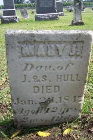 HULL, MARY J. - Marshall County, Illinois | MARY J. HULL - Illinois Gravestone Photos