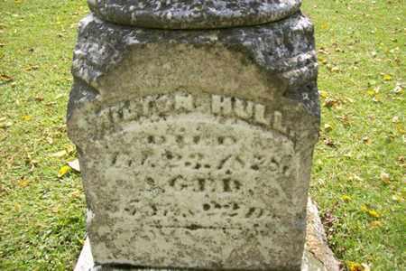 HULL, MILTON CLOSE UP VIEW - Marshall County, Illinois   MILTON CLOSE UP VIEW HULL - Illinois Gravestone Photos