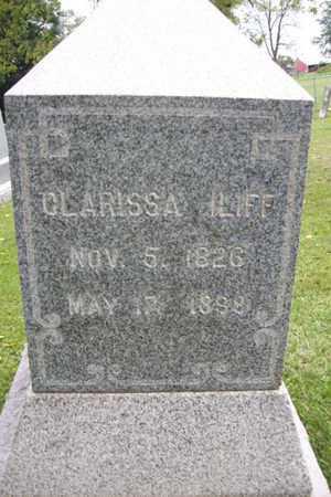 ILIFF, CLARISSA - Marshall County, Illinois | CLARISSA ILIFF - Illinois Gravestone Photos