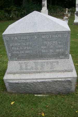HARDER ILIFF, RACHEL - Marshall County, Illinois   RACHEL HARDER ILIFF - Illinois Gravestone Photos