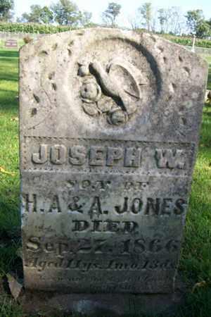 JONES, JOSEPH W. - Marshall County, Illinois | JOSEPH W. JONES - Illinois Gravestone Photos