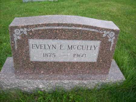 MCCULLY, EVELYN E. - Marshall County, Illinois | EVELYN E. MCCULLY - Illinois Gravestone Photos