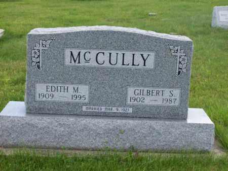 MCCULLY, EDITH M. - Marshall County, Illinois | EDITH M. MCCULLY - Illinois Gravestone Photos