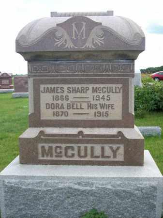 MCCULLY, DORA BELL - Marshall County, Illinois   DORA BELL MCCULLY - Illinois Gravestone Photos