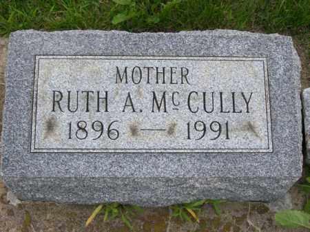 MCCULLY, RUTH A. - Marshall County, Illinois | RUTH A. MCCULLY - Illinois Gravestone Photos