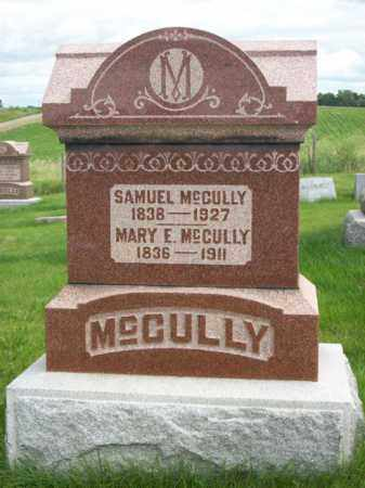 MCCULLY, MARY E. - Marshall County, Illinois | MARY E. MCCULLY - Illinois Gravestone Photos