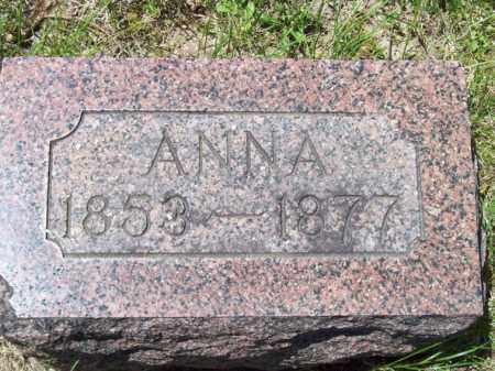 PERRY, ANNA - Marshall County, Illinois | ANNA PERRY - Illinois Gravestone Photos