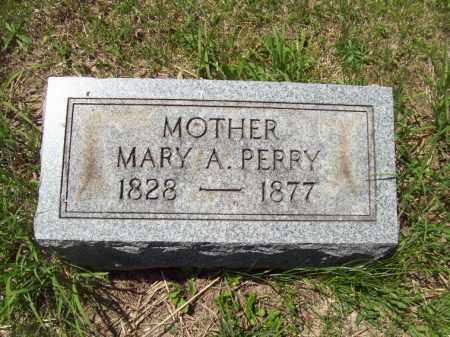 PERRY, MARY A. - Marshall County, Illinois   MARY A. PERRY - Illinois Gravestone Photos