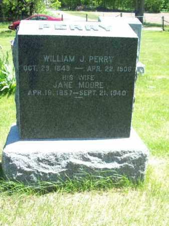 PERRY, WILLIAM J. - Marshall County, Illinois   WILLIAM J. PERRY - Illinois Gravestone Photos