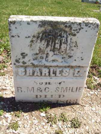 SMILIE, CHARLES E - Marshall County, Illinois | CHARLES E SMILIE - Illinois Gravestone Photos
