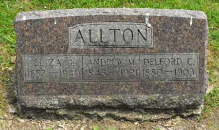 ALLTON, DELFORD C. - McDonough County, Illinois | DELFORD C. ALLTON - Illinois Gravestone Photos