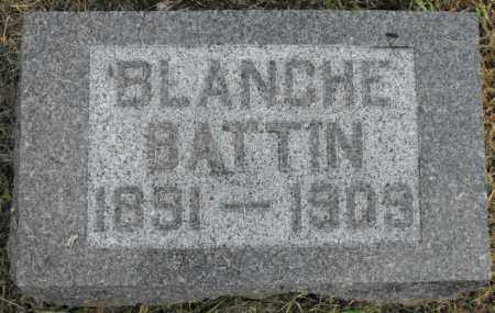 BATTIN, BLANCHE - McDonough County, Illinois   BLANCHE BATTIN - Illinois Gravestone Photos
