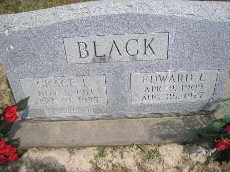 BLACK, EDWARD L. - McDonough County, Illinois | EDWARD L. BLACK - Illinois Gravestone Photos