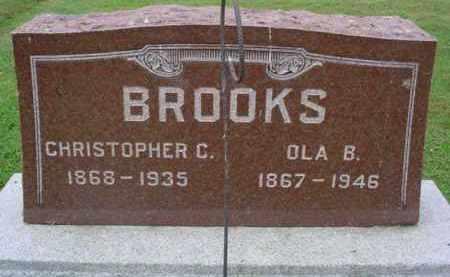 BROOKS, OLA B. - McDonough County, Illinois | OLA B. BROOKS - Illinois Gravestone Photos