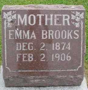 BROOKS, EMMA - McDonough County, Illinois | EMMA BROOKS - Illinois Gravestone Photos