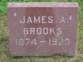 BROOKS, JAMES A. - McDonough County, Illinois   JAMES A. BROOKS - Illinois Gravestone Photos