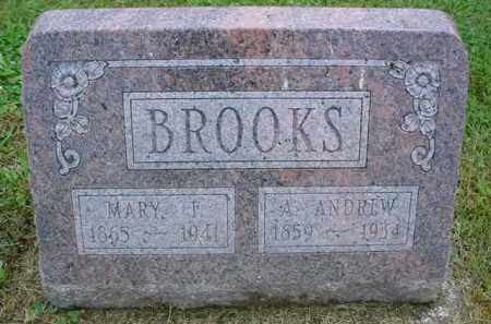 BROOKS, MARY F. - McDonough County, Illinois | MARY F. BROOKS - Illinois Gravestone Photos
