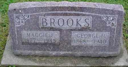 BROOKS, MAGGIE E. - McDonough County, Illinois | MAGGIE E. BROOKS - Illinois Gravestone Photos