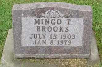 BROOKS, MINGO T. - McDonough County, Illinois | MINGO T. BROOKS - Illinois Gravestone Photos