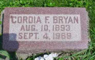 BRYAN, CORDIA F. - McDonough County, Illinois   CORDIA F. BRYAN - Illinois Gravestone Photos