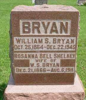 BRYAN, WILLIAM SHERMAN - McDonough County, Illinois | WILLIAM SHERMAN BRYAN - Illinois Gravestone Photos
