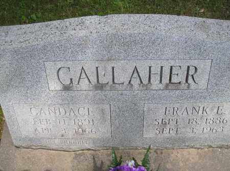 CALLAHER, CANDACE - McDonough County, Illinois | CANDACE CALLAHER - Illinois Gravestone Photos