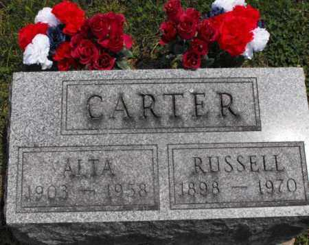 CARTER, RUSSELL - McDonough County, Illinois | RUSSELL CARTER - Illinois Gravestone Photos