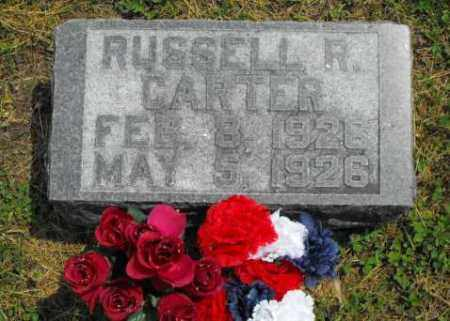 CARTER, RUSSELL R. - McDonough County, Illinois   RUSSELL R. CARTER - Illinois Gravestone Photos